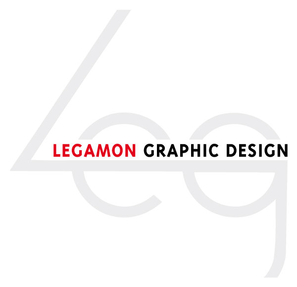 Legamon graphic design